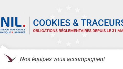 Fin de la tolérance accordée par la CNIL sur la règlementation de la gestion des cookies